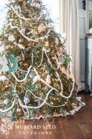 The Branches That Were Once Strong And Up Turned Sagging To Point Garland Ornaments Sliding Off