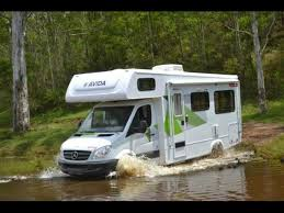 23ft Small Class C Water Crossing Typical Of Normal Motorhome Usage