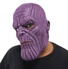 Marvel Avengers Infinity War Thanos Adult 34 Vinyl Costume Mask