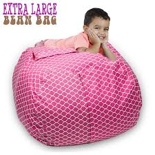 Stuffed Animal Storage Bean Bag Chair 38