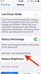 iOS 10 Battery Life Draining Too Fast Check These 9 Helpful Tips