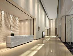 Modern fice Lobby Design mercial Interior Design