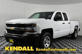New 2018 Chevrolet Silverado 1500 Work Truck In Nampa #D181204 ...