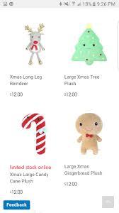 Kmart Christmas Trees Black Friday by Christmas Plush Kmart Wow Toys Pinterest