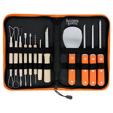 Pumpkin Masters Carving Kit Uk by 12pc Professional Pumpkin Carving Tool Kit Set Carve Halloween