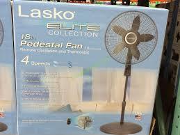 Lasko Table Fan With Remote by Lasko S18961 18 U201d Elite Collection Pedestal Fan With Remote