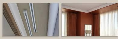 Wonderful Design Ideas Curtain Track System Heavy Duty Flexible