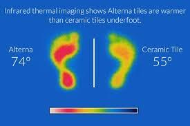 alterna luxury vinyl tile vs ceramic tile flooring vinyl tile vs