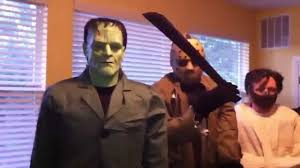 Animatronic Halloween Props Uk by Life Size Horror Movie Icon Collection Halloween Props Youtube