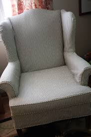 Pin By Dianne BreunsbachLewis Leonetti On Ideas For The House ... Refreshing Easy Diy Striped Chair Slipcover That Exude Luxury Amazoncom Harmony Slipcovers Rose Stripe Wingback Fits S Wingback Grey Themaspring Striped Wingback Chair Dentprofessionalinfo Stretch Pinstripe One Piece Wing Tcushion Slipcovers Uk Avalonmasterpro White Tikami Fniture Excellent Covers For Elegant Interior Back Cover Denim Double Diamond Sure Fit Wingchair