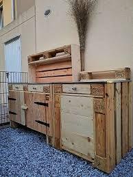 outdoor küche aus europaletten eur 475 00 picclick de