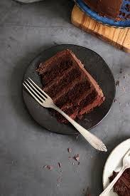 vegan chocolate bomb cake
