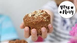 saftige apfel muffins mit haferflocken ideal für kinder