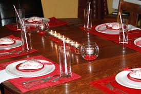 Christmas Dining Table Room Arrangements Dinner Decoration
