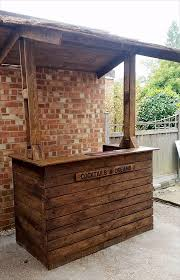 Portable Patio Bar Ideas by 87 Epic Pallet Bar Ideas To Embrace For Your Event Homesthetics