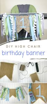 100 High Chair Pattern DIY Birthday Chair Banner Life Anchored