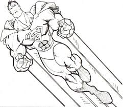 Superman Printable Coloring Pages Free For Kids