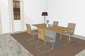 gwinner s design esszimmer felino mit 4 schwingstühlen