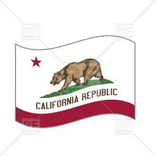 California State Flag Vector Image Artwork Of Signs Symbols Maps C Robertosch