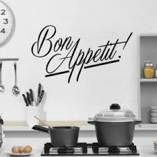 stickers cuisine phrase kitchen wall stickers iconwallstickers co uk