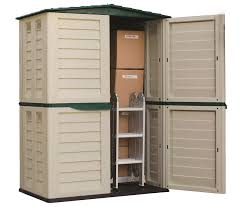 Step2 Lifescapestm Highboy Storage Shed by Starplast 5 Ft W X 2 Ft 9 In D Plastic Vertical Tool Shed