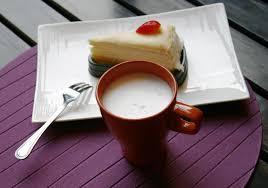 kuchen und kaffee 1990495 stock foto
