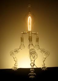 blown light bulbs by kehde roelofs dezeen