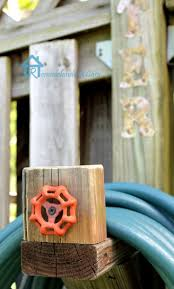 Decorative Hose Bib Extender by Garden Hose Storage Ideas Home Outdoor Decoration
