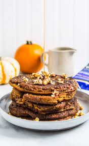 Easy Healthy Pumpkin Pancake Recipe by Healthy Pancake Recipes For Any Time Of Day Greatist