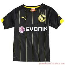 Bvb Away Jersey Black Cyber Yellow Pu74589901sale Puma Shoespuma Football Boots