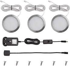 meikee led unterschrank beleuchtung kit insgesamt 7 5 watt