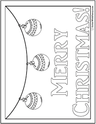 Holiday Coloring Pages To Print And Customize