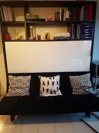 canap avec biblioth que int gr e achetez armoire lit avec occasion annonce vente à asnières sur