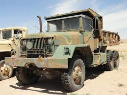 100 Medium Duty Dump Trucks For Sale 1965 AM General M817 Truck 11000 Miles Lamar