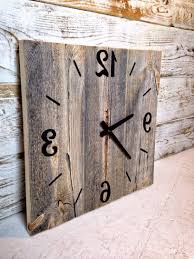 Home Design : Large Wall Clocks Australia Throughout Wooden Clock ... Rustic Wall Clock Oversized Oval Roman Numeral 40cm Pallet Wood Diy Youtube Pottery Barn Shelves 16 Image Avery Street Design Co Farmhouse Clocks And Fniture Best 25 Large Wooden Clock Ideas On Pinterest Old Wood Projects Reclaimed Home Do Not Use Lighting City Reclaimed Barn Copper Pipe Round Barnwood Timbr Moss Clock16inch Diameter Products