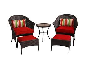 Menards Patio Furniture Cushions by Backyard Creations Cheriton 5 Piece Bistro Patio Set At Menards