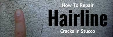Hairline Cracks In Ceiling Paint by Repairing Hairline Cracks In Exterior Stucco