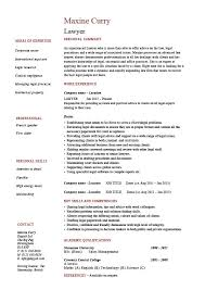 Lawyer CV Template Resume Example Sample Solicitor Corporate Professional Personal Injury Graduate You Can Get The Fully Editable MS Word Version