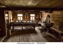 Old Times Farmhouse Interior Of An Country House