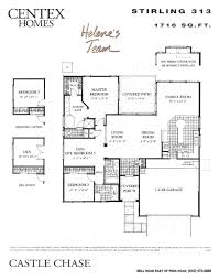 Centex Floor Plans 2001 by Castle Chase By Centex Homes Models Mcdowell Mountain Area Maps