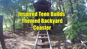 Inspired Teen Builds Themed Backyard Coaster - YouTube Bay Area Dad Couldnt Say No Builds Son A Roller Coaster In How To Build An Outdoor Stacked Stone Fireplace Hgtv Pergola Pergola Plans Beautiful Deck Ideas If You Have A Backyard Builds Watch Online Full Episodes Videos Hgtvca Floating Decks Video Diy Man Constructing 22foot Tsunamiproof Pod Make This Is Custom Tiki Bar Built For Client Boca Raton Ben Wilkinson Works With Giant Slabs Of Wood And Things Design Wonderful Top Plexiglass Roof At Home Couple Living With Inlaws Sports Hide In Ground Glass Media Casting Cabana Howtos