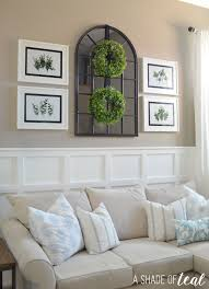 I Love Incorporating The RIBBA Frames In All My Rooms Theyre Perfect Classic White Picture Frame SMYCKA Artificial Wreath Is A New Fav Of Mine