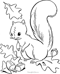 Related Coloring Pages Fall Page