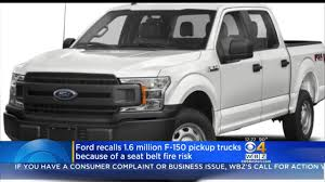 Ford Recalls 2 Million F-150 Trucks Over Seat Belt Part That Can ... Ford Recalls 37000 2015 F150 Pickup Trucks Nbc 5 Dallasfort Worth Truck Over The Years Fordtrucks 339000 F150s In Canada Autotraderca And Super Duty Recall What You Need To Know Fords Third Recall In A Week Affects 2017 F250s Youtube Recalls 271000 32014 Trucks For Braking Defect 2 Million At Risk Of Catching Fire Because Explorer Mustang Expedition Fusion 2018 Suvs Possible Unintended Movement Brake Failure Class Action Lawsuit Dangerous Rollaway Problem Recalling 52017 Transit Medium