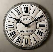 Knock off wall clock Pottery Barn sells one for $1 400 For
