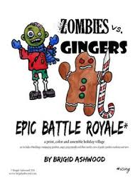 Coloring Page Paper Craft See More ZOMBIES Vs GINGERS