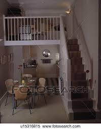 klein leben bereich auf mezzanine oben kueche und