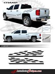 2000-2018 Chevy Silverado Decals Champ Truck Bed Side Vinyl Graphic ... 2015 2016 2017 2018 Chevy Colorado Truck Bed Stripes Antero Decals Metal Mulisha Skull Circle Window X22 Graphic Decal Best Of Silverado Rocker Drag Racing Nhra Rear Nostalgia Amazoncom Chevrolet Bowtie With Antlers Sticker Wave Red Vinyl Half Wrap Xtreme Digital Graphix More Rally Edition Unveiled New Z71 4x4 Gmc Canyon Tahoe Stickers For Trucks 42015 1500 Plus Style