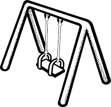 Children Play Kinder Playground Swing Toy
