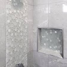 Mosaic Tile Chantilly Virginia by Sparkle Round Glass And Shell Mosaic Tile Glass Shell